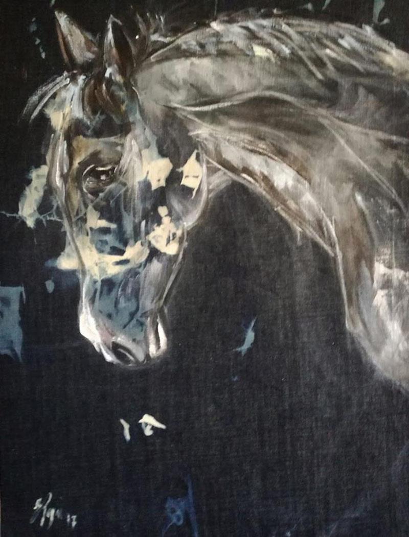 cavallo-olio-su-tela-denim